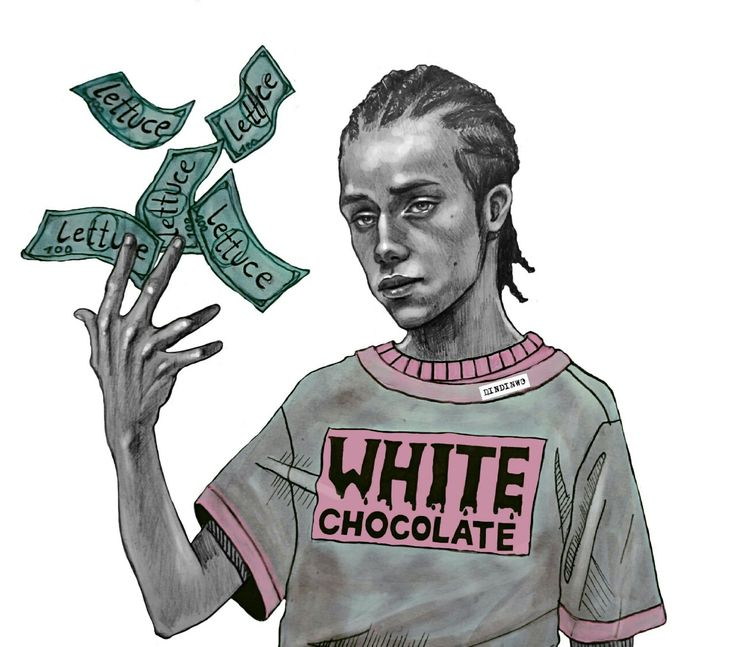 White Boy Carl  Carl Gallagher   Gallagher chocolate blanco