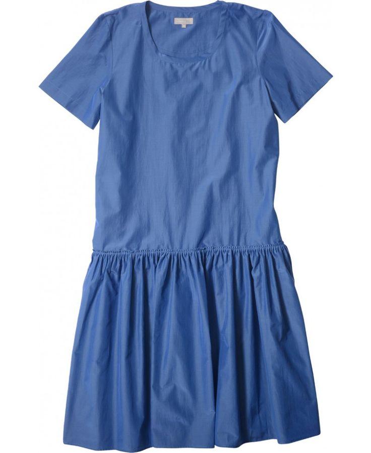 MARGARET HOWELL - GATHERED T SHIRT DRESS - DRESSES - WOMEN