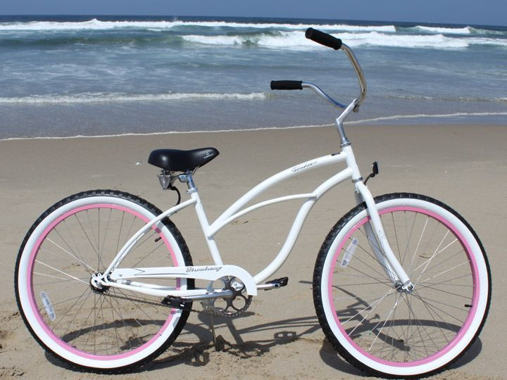 I Adore My Beach Cruiser Her Name Is Betty White And She S Been A Loyal Friend Products Love Pinterest Bikes Bike Woman