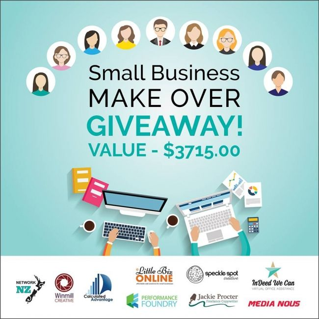 Enter to win: Small Business Makeover! Value $3715!! | http://www.dango.co.nz/pinterestRedirect.php?u=N7Y8LShn3762