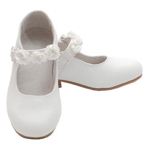 Im Link Girls Ary Jane Flower Accent Flat Dress Shoes Toddler Little Girl,White,13 IM Link http://www.amazon.com/dp/B00B9J02TU/ref=cm_sw_r_pi_dp_tJ2Rtb1E1M9FMMW7
