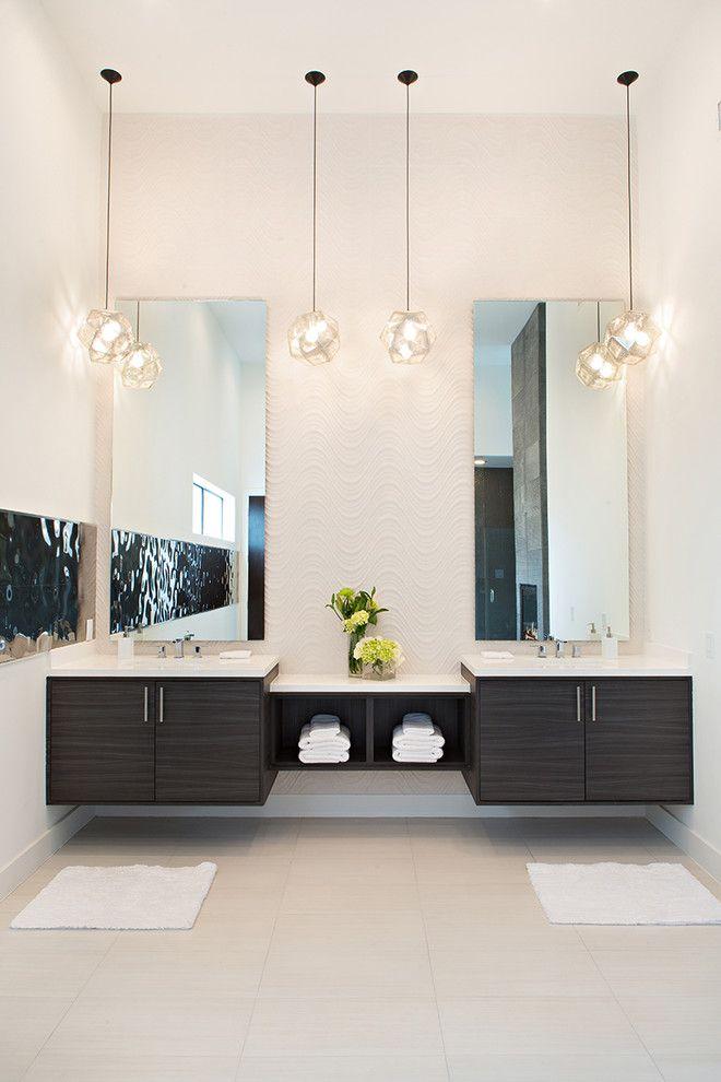 Beautiful  Vanities On Pinterest  Wood Bathroom Vanities Contemporary Vanity