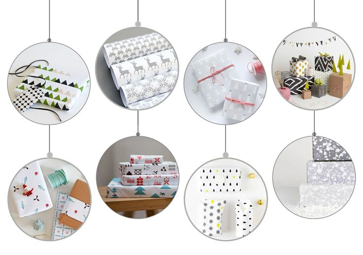Free wrapping paper moodboard