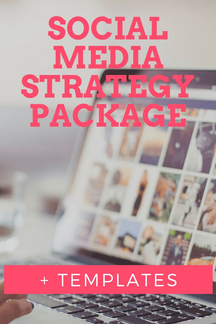 FREE Social Media Strategy Package + templates.