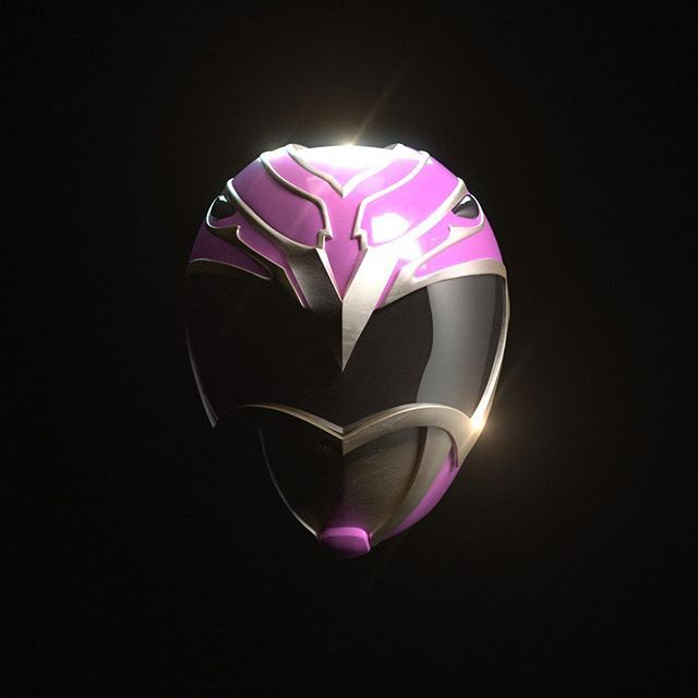 Hyperforce. Pink. Ready. Power up! Here is a 3D render of the pink ranger helmet I did for Power Rangers Hyperforce.   #powerrangers #hyperforce #90s #vfx #design #graphicdesign #wednesday #pink #fun #aftereffects #3ds #zbrush #sculpture #cosplay #notcosplay #tv #show #movies #itsmorphintime #nerd #geek #comics #film #nostalgia #rpg #tabletoprpg