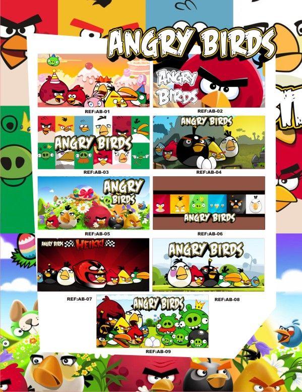 Personaliza tu fiesta de Los Angry Birds con mugs de cerámica. #FiestasInfantilesCali #DecoracionFiestasInfantilesBogota
