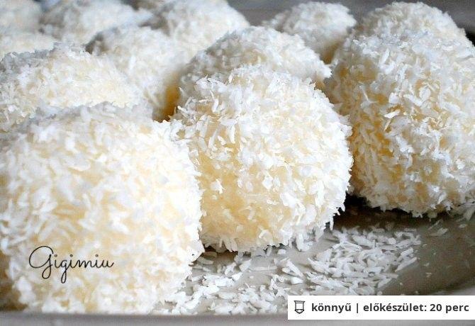 Raffaello golyó Gigimiu konyhájából | NOSALTY – receptek képekkel