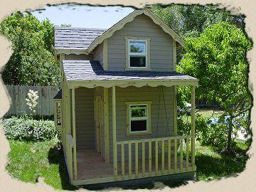 mini country cottage diy playhouse kits