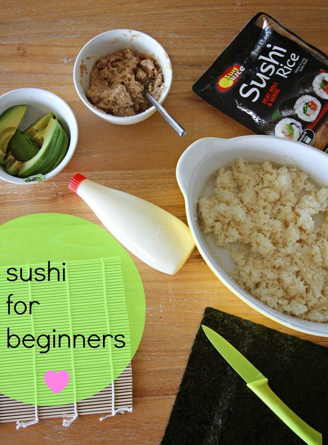100 sushi recipes for beginners on pinterest sushi for Easy cooking for beginners