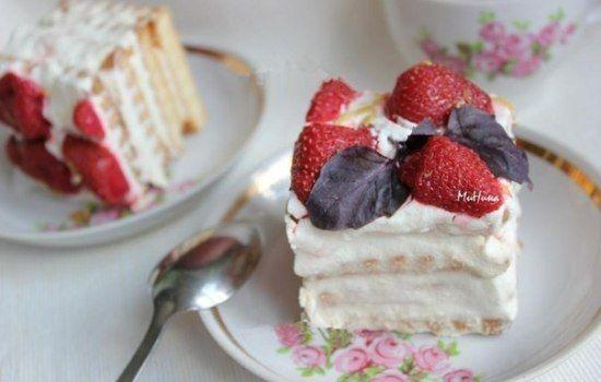 Рецепты торта из творога без выпечки, из творога и печенья, секреты