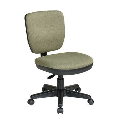 Office Star Mid-Back Contemporary Task Chair without Arms Upholstery: