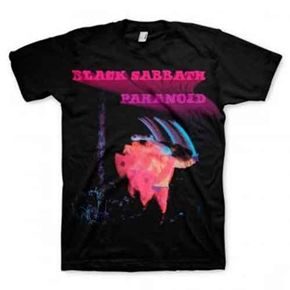 Official new Black Sabbath T-shirt featuring Paranoid design on the front. For concert or casual this is one classic shirt you will love to wear!