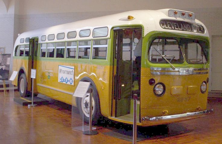 Rosa Parks Bus - Bing Images