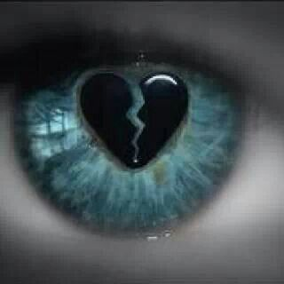 This is what i see when i look into your eyes. Beautiful yet broken. I try to heal it but idk when you will fully let me