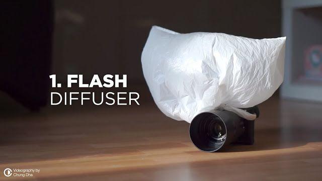 5 formas de usar las bolsas de plástico relacionadas con la fotografía