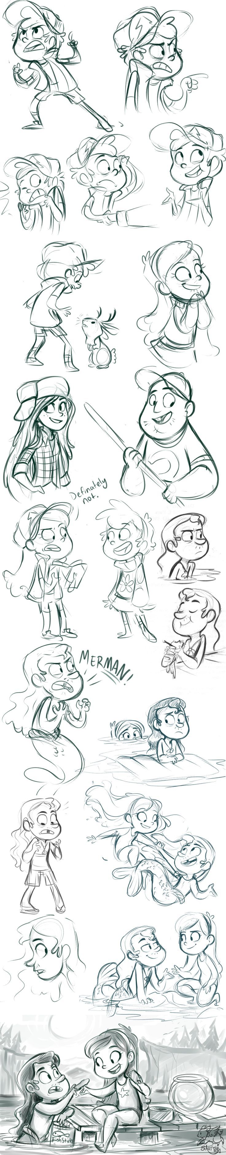 Gravity Falls Stuff by sharpie91.deviantart.com on @deviantART:
