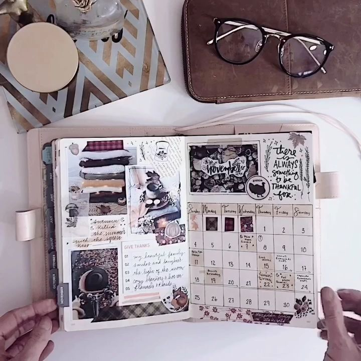 November Bullet Journal – #Bullet #Journal #Novemb…
