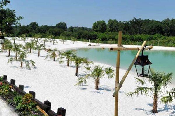 Mejores 91 im genes de campings de playa campings on the for Camping en las landas con piscina cubierta