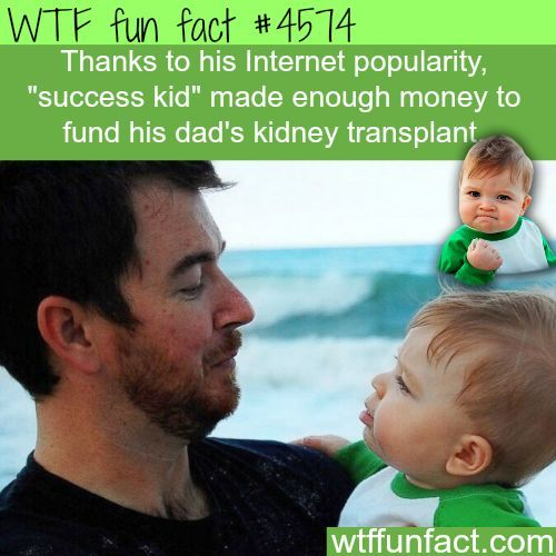 "Did a ""Stint"" as an Internet meme! ...& HELPED Save my Dad! ~WTF? Awesome & fun facts"