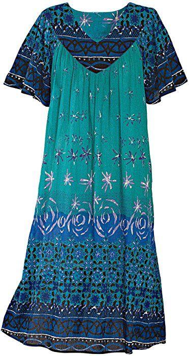 db8408aa6b7 National Ocean Breeze Crinkle Dress