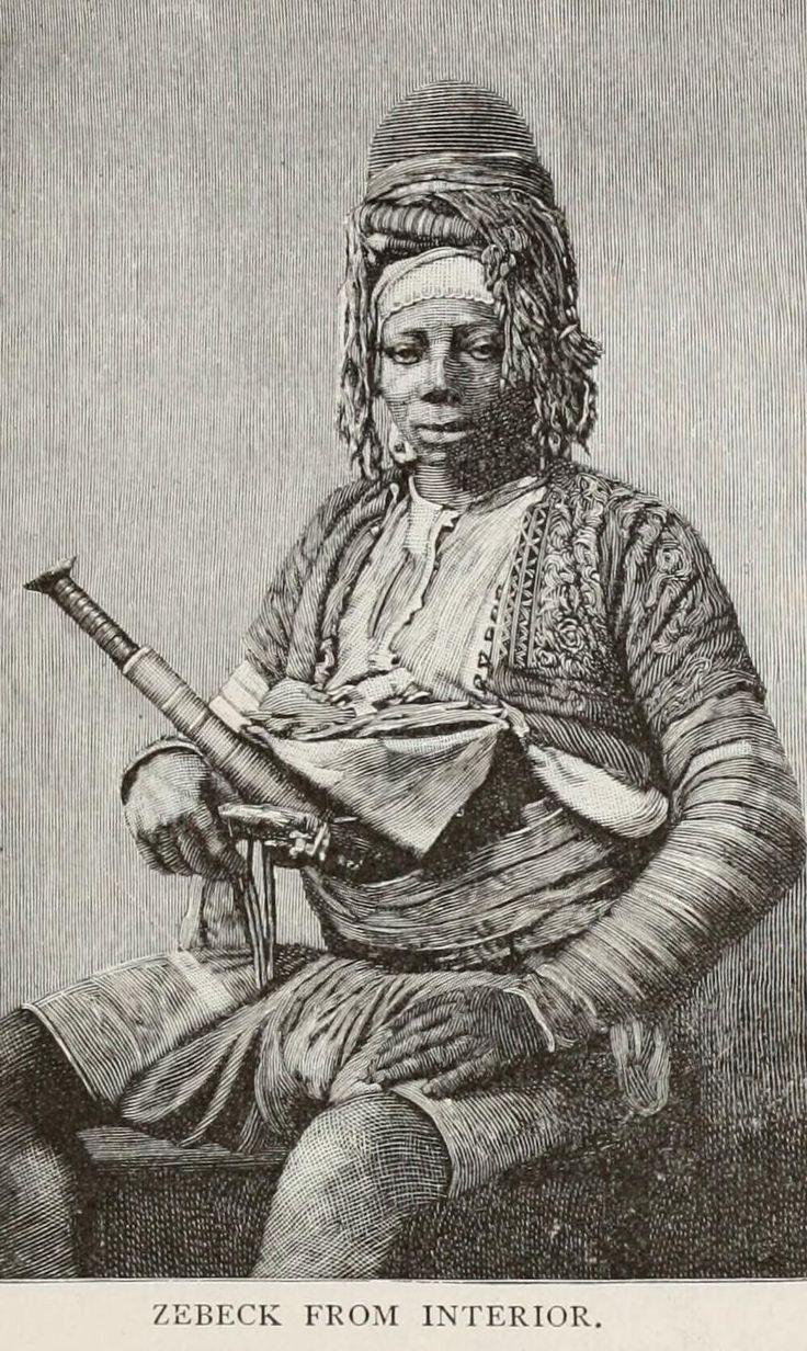 Ottoman zeibek (zeybek, ziebek) irregular soldier.