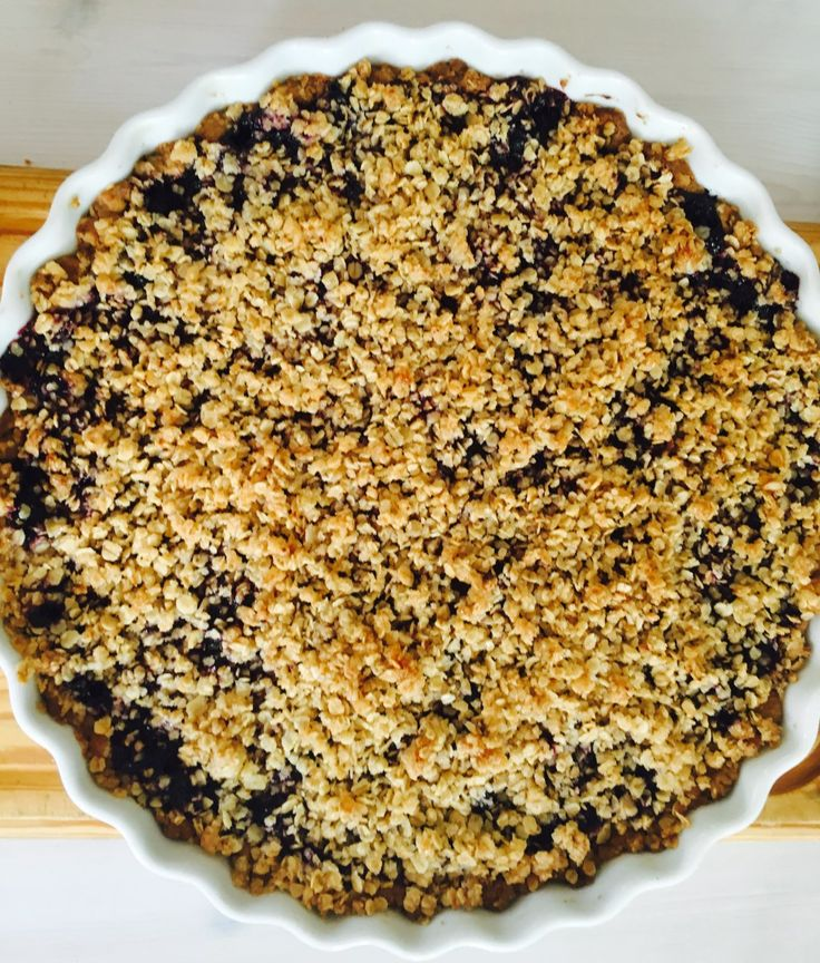 Blueberry pie MIL style