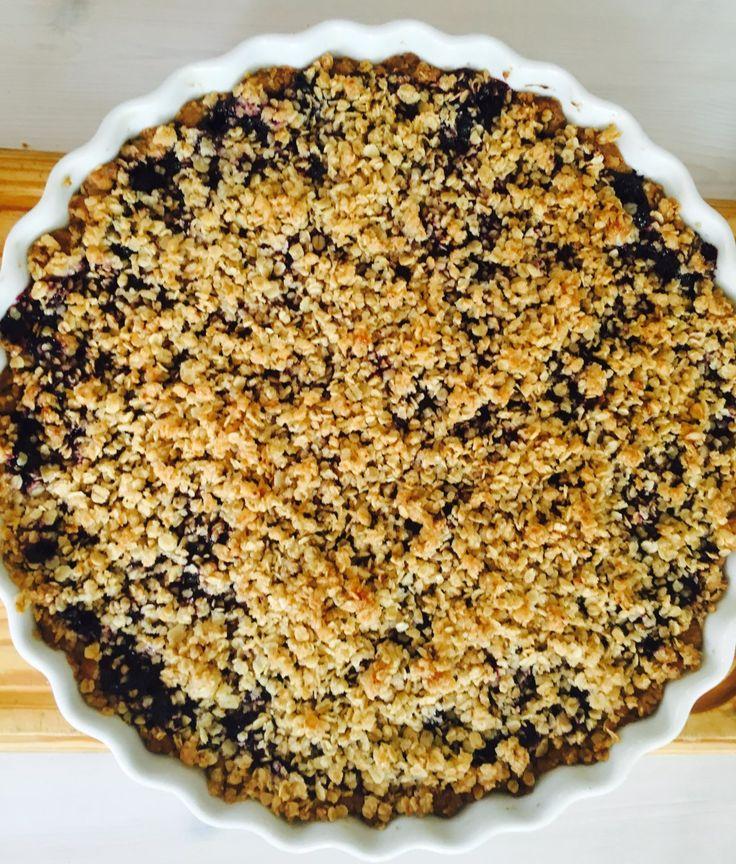 Blueberry pie MIL style