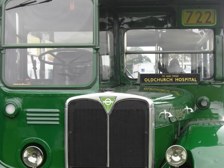 Old classic bus....and green! UK