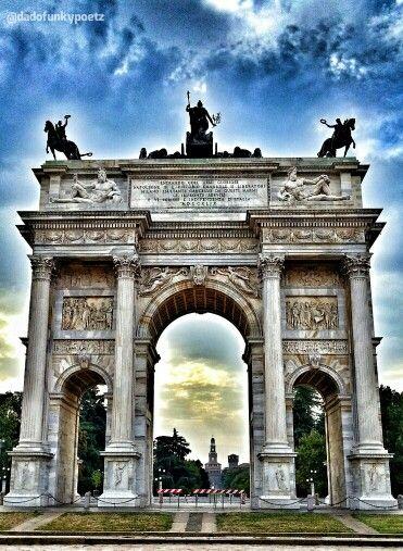 #myshot #2013. Arco della Pace. #Milano #Milan #Italia #Italy