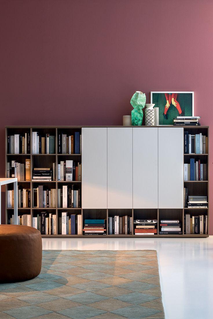 Wall 12, Librerie, Prodotti | Novamobili
