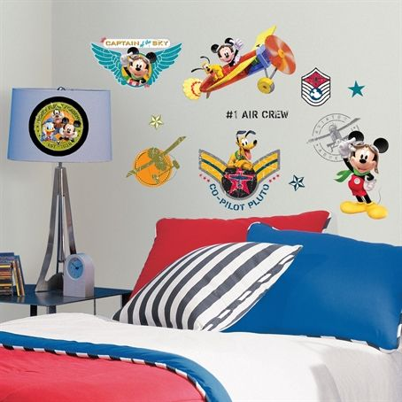 Mickey Mouse Clubhouse Pilot Wall Decals | RoomMates Wall Decals