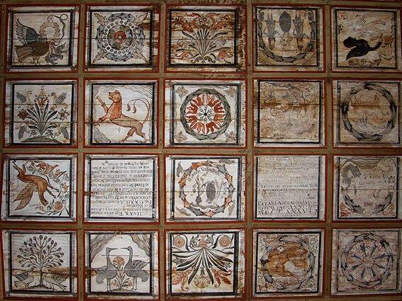 Kraszna 1736 (bal felső sarok)
