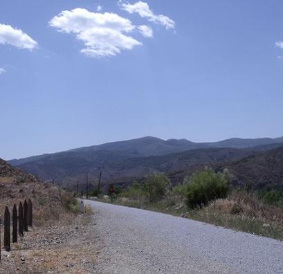 Almanzora walking trail - Via Verde Hijate - Seron  Length : 11.8 km