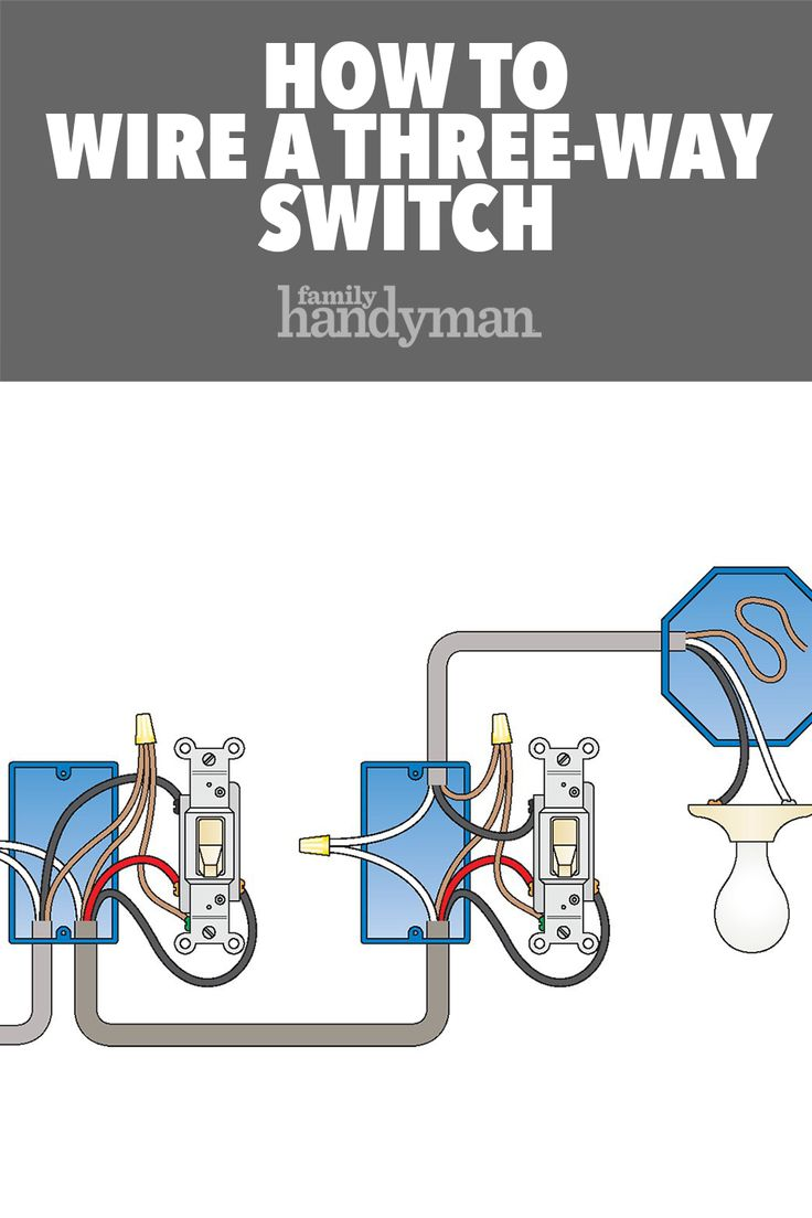 How To Wire A 3 Way Light Switch