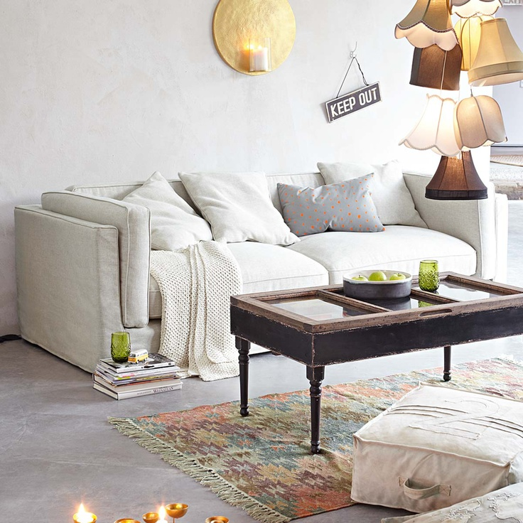 17 best images about country home on pinterest sweet - Couchtisch antik weiay ...