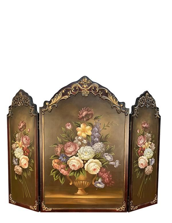 Scarborough Hand Painted Fireplace Screen Paint Fireplace