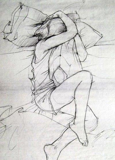 #Durmiendo (Intentando no pensar)