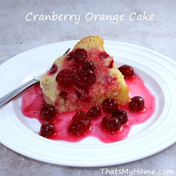 cranberry oranje taart uit thatsmyhome.com