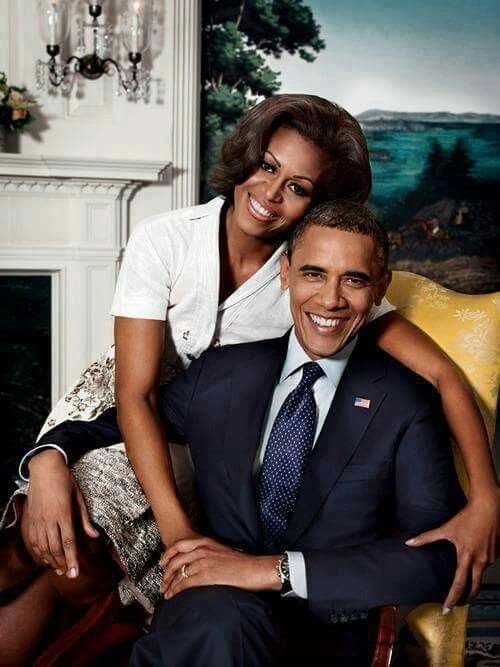 1st African American president. Barack H. Obama and his 1st  lady  Michelle Obama  2008-2017  Great Job!