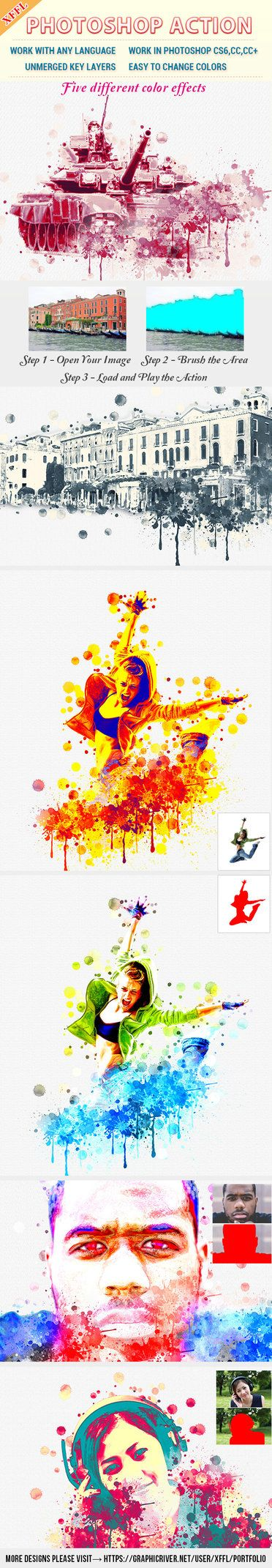 DOWNLOAD:     goo.gl/HQpPcCDiscolour Watercolor Photoshop ActionFiles FeaturesPhotoshop ActionWork in Photoshop CS6 or HigherWork with any LanguageUnmerged key L...
