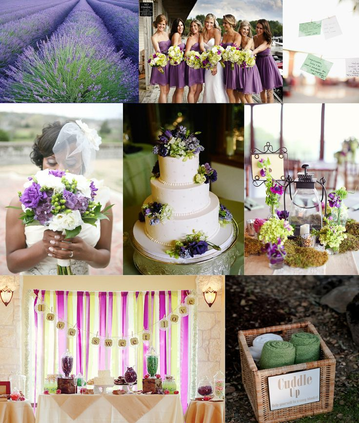 Purple And Green Wedding Ideas: Mint Green And Gold Wedding