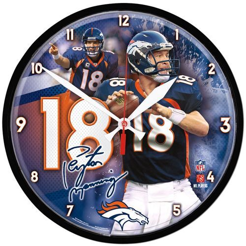 The Chrome Plated Clock Is Both A Retro Classic, And A Trendy Find For A Wall  Clock. Stunning Graphics With A Metal Hands Make A Great Fit In Any Fan  Cave,