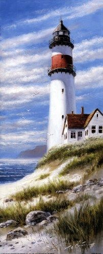 Lighthouse on Cliff T. C. Chiu
