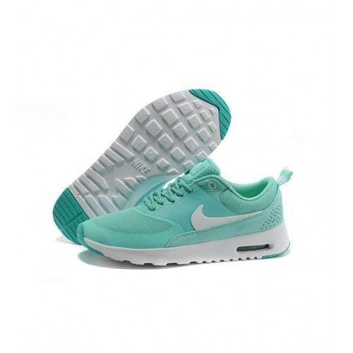 Bast Nike Air Max Thea Print Dam Loparskor Gron 0935