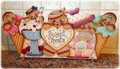 HP GINGERBREAD Sweet Treats SHELF SITTER