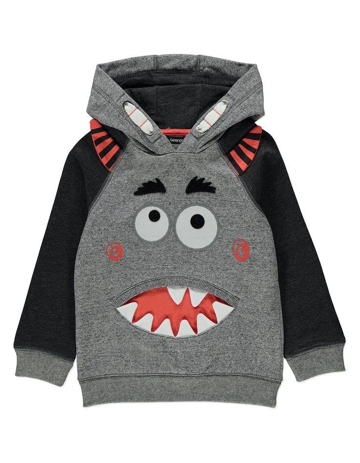 Monster Print Hoodie | Kids | George at ASDA