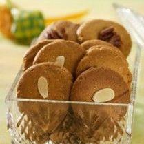 Caramel Almond Cookies http://www.sajiansedap.com/recipe/detail/2107/caramel-almond-cookies#.U8TmAfmSxRE