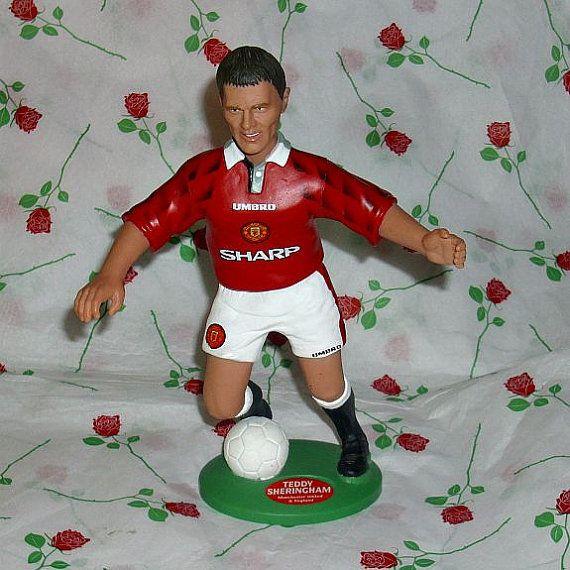 Teddy Sheringham Vivid Imaginations Football by WelshGoatVintage