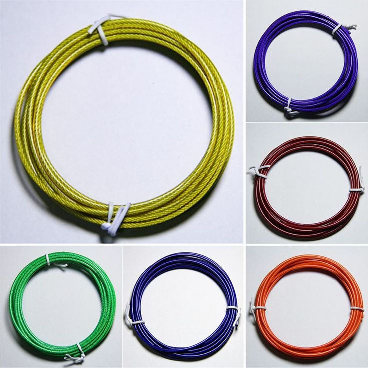 Boxing/Gym/Jumping/Speed/Exercise/Fitness Crossfit Workout Jump Skipping Rope 43BP