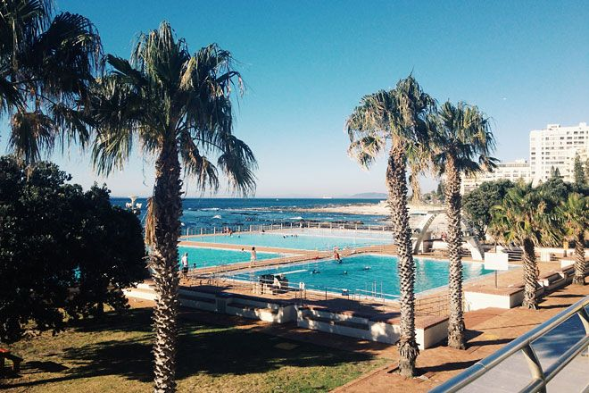 Sea Point Pool , Cape Town